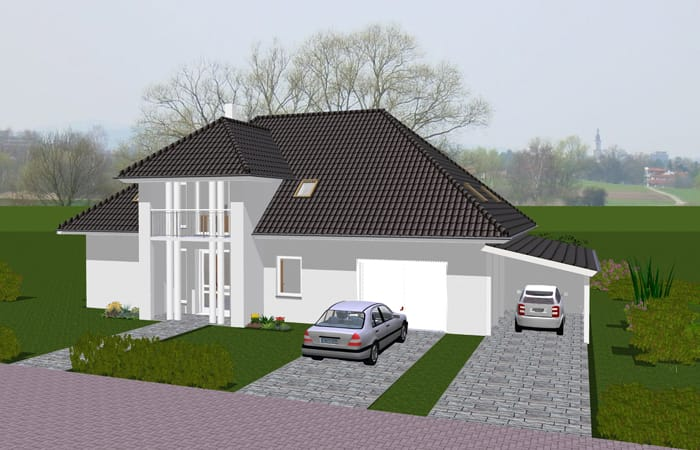 carport am haus interesting modernen with carport am haus best anbauen an haus oder garage u. Black Bedroom Furniture Sets. Home Design Ideas