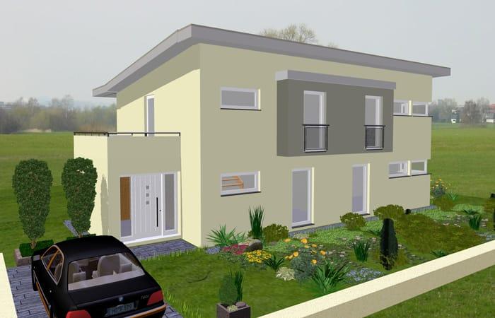 Lyra Haus Moderne Stadtvilla Mit Pultdach